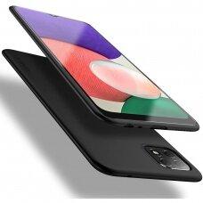 Dėklas X-Level Guardian Samsung A226 A22 5G juodas