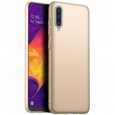Dėklas X-Level Guardian Samsung A705 A70 Auksinis