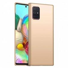 Dėklas X-Level Guardian Samsung A715 A71 auksinis UCS024