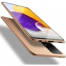 Dėklas X-Level Guardian Samsung A72 auksinis