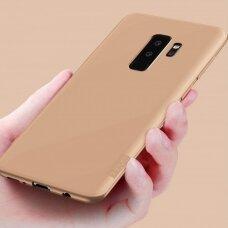 Dėklas X-Level Guardian Samsung G965 S9 Plus auksinis UCS007