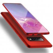 Dėklas X-Level Guardian Samsung G975 S10 Plus Raudonas