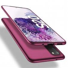 Dėklas X-Level Guardian Samsung G981 S20/S11e bordo UCS003