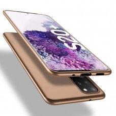 Dėklas X-Level Guardian Samsung G986 S20 Plus/S11 auksinis UCS002