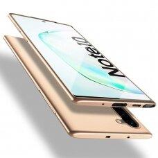 Dėklas X-Level Guardian Samsung N970 Note 10 auksinis UCS021