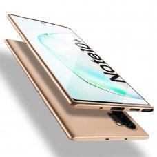 Dėklas X-Level Guardian Samsung N975 Note 10 Plus Auksinis