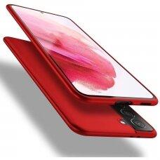 Dėklas X-Level Guardian Samsung S21/S30 Raudonas