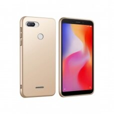 Dėklas X-Level Guardian Xiaomi Redmi 6 auksinis UCS119