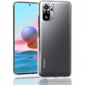 Dėklas High Clear 1,0mm Xiaomi Redmi Note 10 / Redmi Note 10S