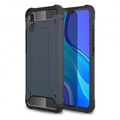 Dėklas Armor Neo Xiaomi Redmi 9A tamsiai mėlynas