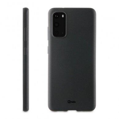 Dėklas BeHello Gel Samsung G981 S20 juodas UCS003 2