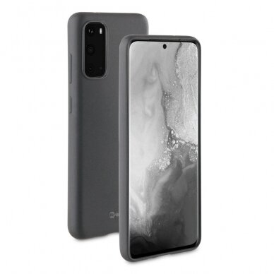 Dėklas BeHello Gel Samsung G981 S20 juodas UCS003
