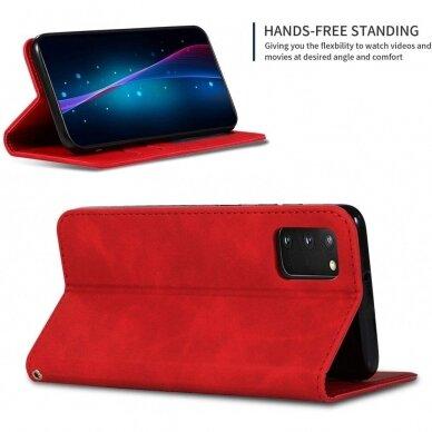 Dėklas Business Style Samsung G981 S20/S11e raudonas UCS003 2
