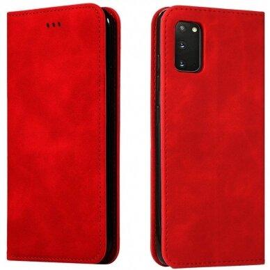 Dėklas Business Style Samsung G981 S20/S11e raudonas UCS003