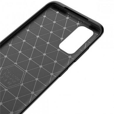 Dėklas Carbon Lux Samsung G981 S20/S11e juodas UCS003 4