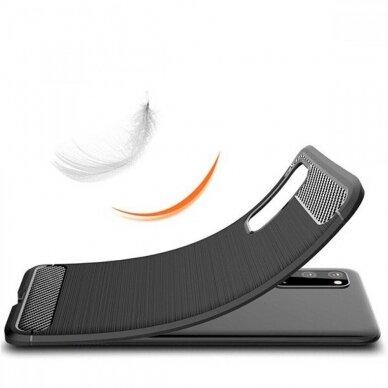 Dėklas Carbon Lux Samsung G981 S20/S11e juodas UCS003 6