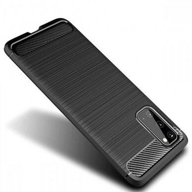 Dėklas Carbon Lux Samsung G981 S20/S11e juodas UCS003 7