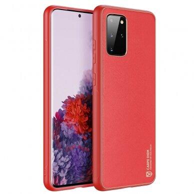 Dėklas Dux Ducis Yolo Samsung A515 A51 raudonas