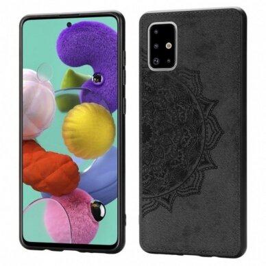 Dėklas Mandala Samsung A515 A51 juodas UCS025