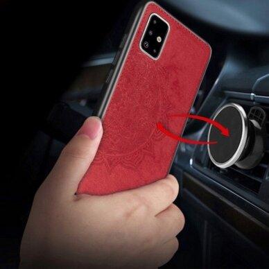 Dėklas Mandala Samsung A515 A51 raudonas UCS025 2