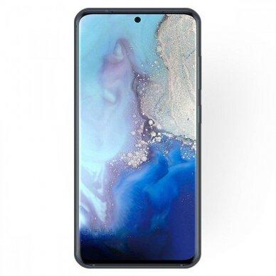 Dėklas Rubber TPU Samsung G981 S20/S11e juodas UCS003 2
