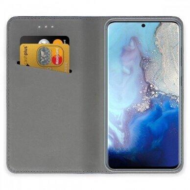 Dėklas Smart Magnet Samsung G981 S20/S11e tamsiai mėlynas UCS003 3