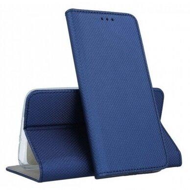 Dėklas Smart Magnet Samsung G981 S20/S11e tamsiai mėlynas UCS003 4