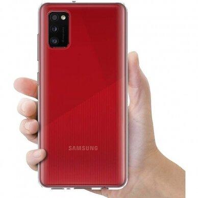 Dėklas X-Level Antislip/O2 Samsung A035 A03s skaidrus 2