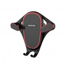 Dudao Gravity Car Mount Phone Bracket Air Vent Holder juodas (F5S juodas) (ctz220)