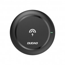 Bevielis įkroviklis Dudao wireless charger Qi 10 W juodas