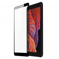 Ekrano Apsauginis Stiklas Su Rėmeliu (tinka su dėklu) Dux Ducis 10D Tempered Glass Tough Screen Protector Samsung Galaxy Xcover 5 Juodas