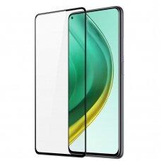 Apsauginis stiklas Dux Ducis 9D Tempered Glass Tough Screen Xiaomi Mi 10T Pro / Mi 10T Juodais kraštais (case friendly)
