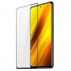 Apsauginis stiklas Dux Ducis 9D Xiaomi Poco X3 NFC Juodas