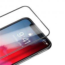 "PILNAI DENGIANTIS GRŪDINTAS APSAUGINIS STIKLAS ""Dux Ducis All-Screen"" iPhone 11 Pro Max / iPhone XS Max JUODAS"