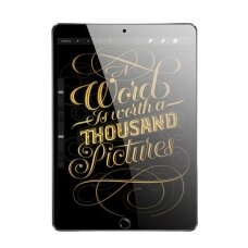 Apsauginis stiklas Dux Ducis All Tempered Glass Super Tough Screen Protector Full Coveraged For Ipad 10.2'' 2019 Skaidrus