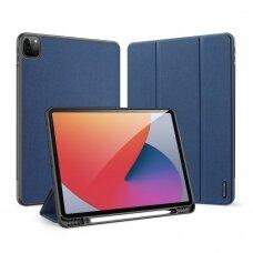 Atverčiamas dėklas DUX DUCIS Domo iPad Pro 12.9'' 2021 tamsiai mėlynas