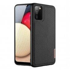 Dux Ducis Fino dėklas Samsung Galaxy A02s Juodas