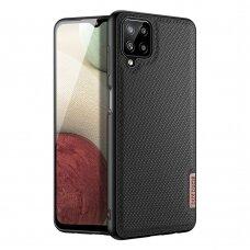 Dėklas Dux Ducis Fino Samsung Galaxy A12 Juodas