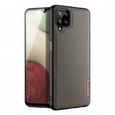 Dėklas Dux Ducis Fino Samsung Galaxy A12 Rudas