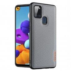 Dėklas Dux Ducis Fino Samsung Galaxy A21S Mėlynas