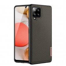 Dėklas Dux Ducis Fino Samsung Galaxy A42 5G žalias