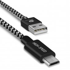 Dux Ducis K-One Series Usb / Micro Usb Cable 2.1A 0,25M Black