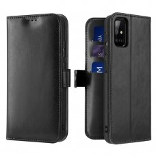 Dux Ducis Kado atverčiamas dėklas Samsung Galaxy A71 juodas (ctz005) UCS024