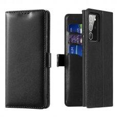 Piniginės Tipo Atverčiamas Dėklas 'Dux Ducis Kado' Samsung Galaxy Note 20 Juodas
