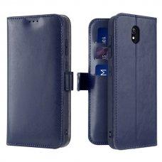 """Dėklas piniginė """"Dux Ducis Kado"""" PU oda Xiaomi redmi 8A mėlynas (qew24) UCS115"""