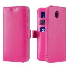 "Dėklas piniginė ""Dux Ducis Kado"" PU oda Xiaomi redmi 8A rožinis (qew24) UCS115"