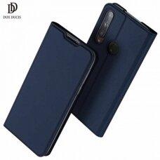 DUX DUCIS Skin Pro atverčiamas dėklas Huawei P40 Lite E mėlynas (ctz012) UCS067