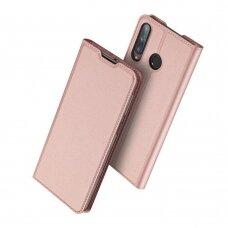 DUX DUCIS Skin Pro atverčiamas dėklas Huawei P40 Lite E rožinis (ctz012) UCS067