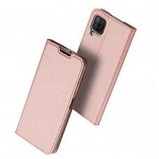 DUX DUCIS Skin Pro atverčiamas dėklas Huawei P40 Lite / Nova 7i / Nova 6 SE rožinis