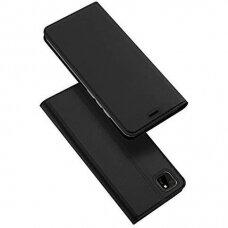 Dux Ducis Skin Pro Atverčiamas Dėklas Huawei Y5P Juodas